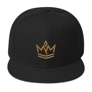 Snapback Gold Crown