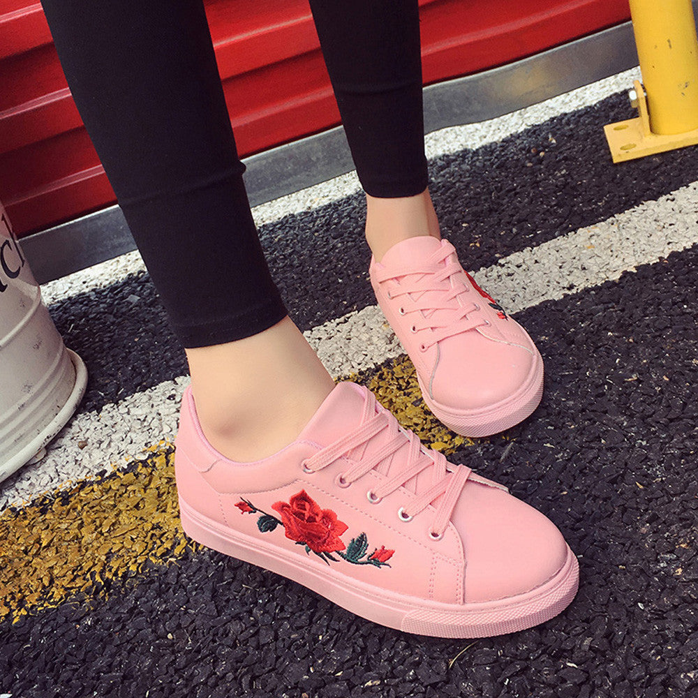 'Pop Of Roses' Shoes