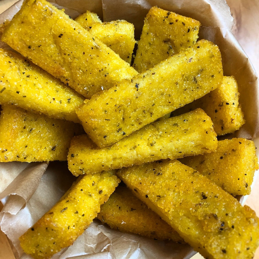Crispy Baked Polenta Fries