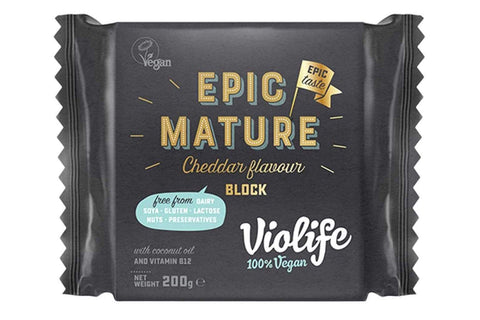 violife epic mature cheddar cheese