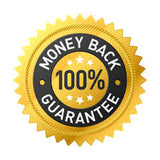 If you are not happy, then we are not happy! 100% Money back guarantee!