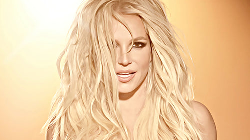 Britney Spears - Painting 001