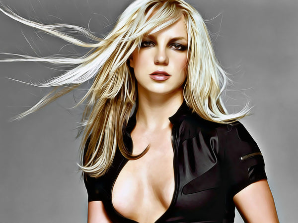 Britney Spears - Painting 004