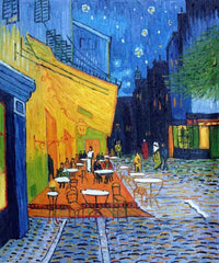 Cafe Terrace at Night - Vincent van Gogh