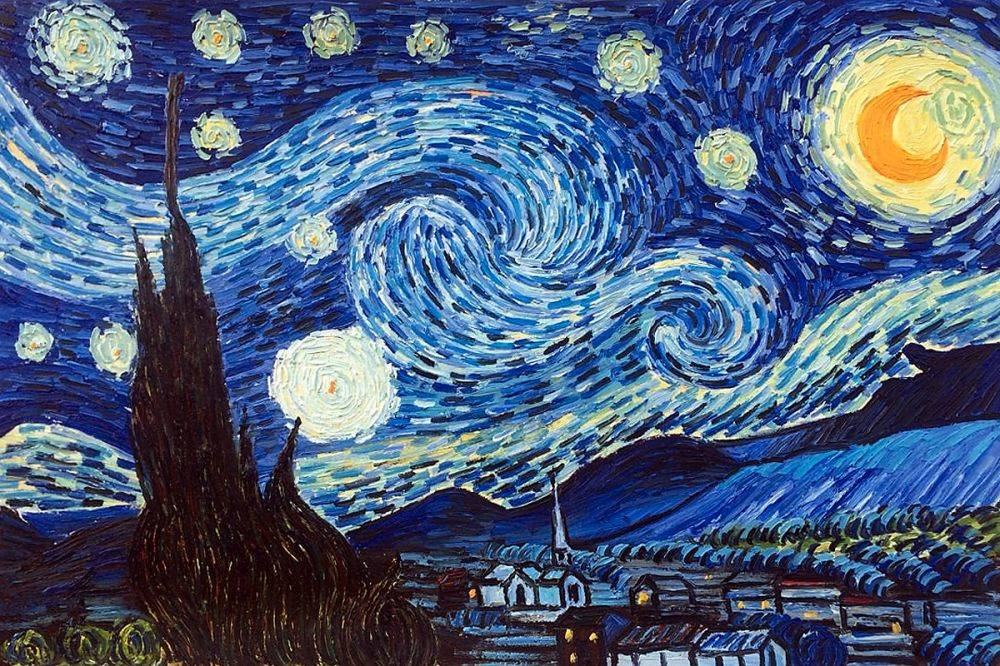Image result for vincent van gogh starry night