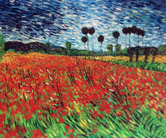 Field of Poppies - Vincent Van Gogh