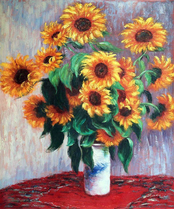 Sunflowers - Claude Monet - Nova Paintings