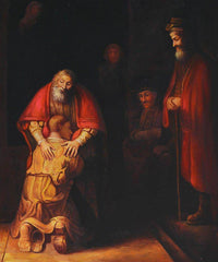 Return of the Prodigal Son - Rembrandt
