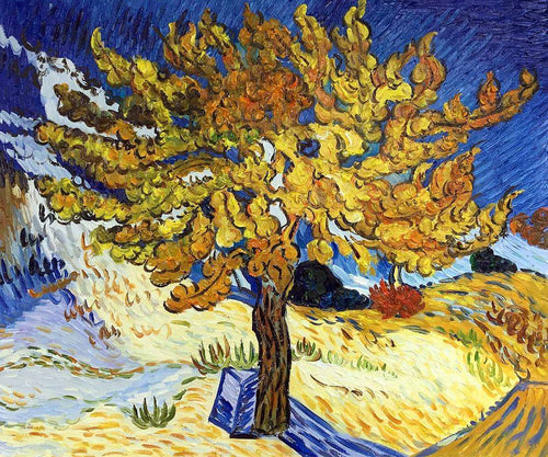 The Mulberry Tree - Vincent Van Gogh