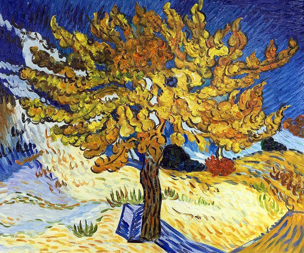 The Mulberry Tree - Vincent Van Gogh - Nova Paintings