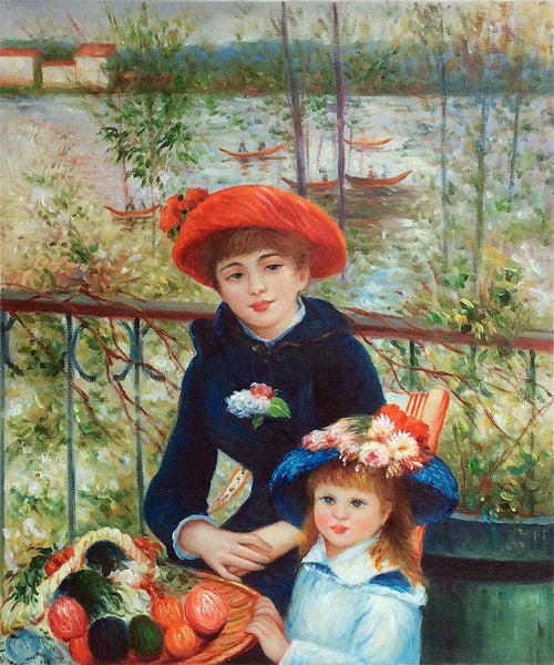 Two Sisters (On the Terrace) - Pierre-Auguste Renoir