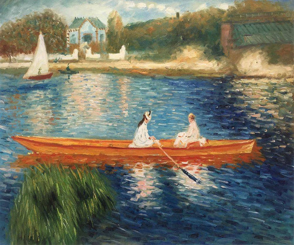 Boating on the Seine - Pierre-Auguste Renoir