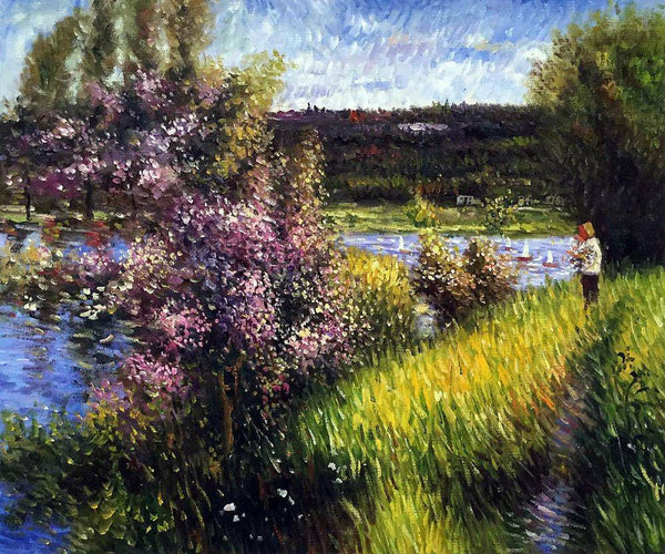 The Seine at Chatou - Pierre-Auguste Renoir