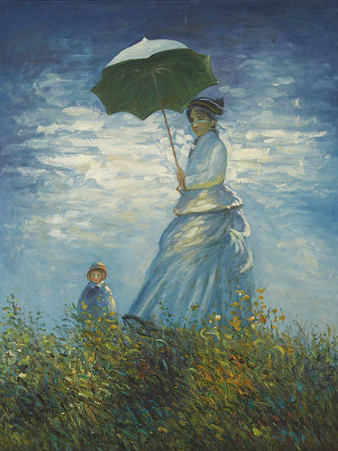 Madame Monet and Her Son - Claude Monet
