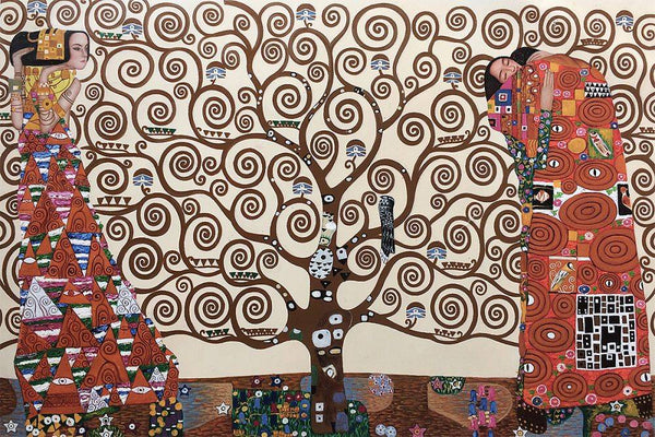 The Tree of Life, Stoclet Frieze - Gustav Klimt - Nova Paintings