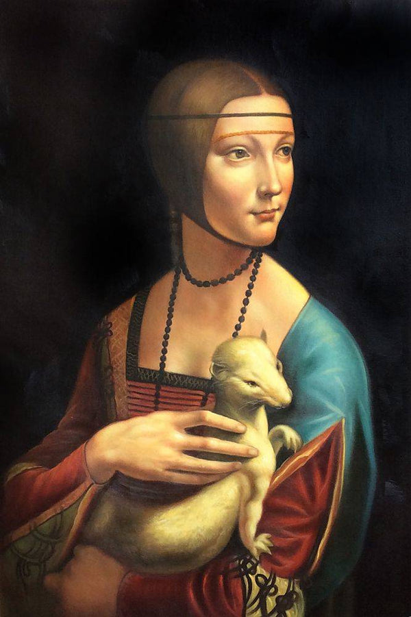 Lady With An Ermine - Leonardo Da Vinci - Nova Paintings