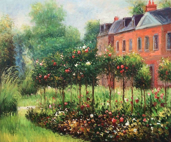 The Rose Garden at Wargemont - Pierre-Auguste Renoir