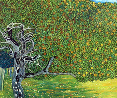 Golden Apple Tree - Gustav Klimt