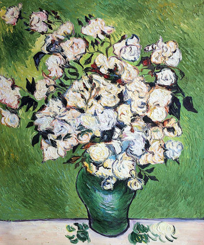 Vase with Roses - Vincent Van Gogh