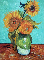 Sunflowers, First Version - Vincent Van Gogh