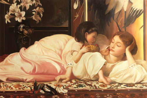 Mother and Child - Lord Frederic Leighton