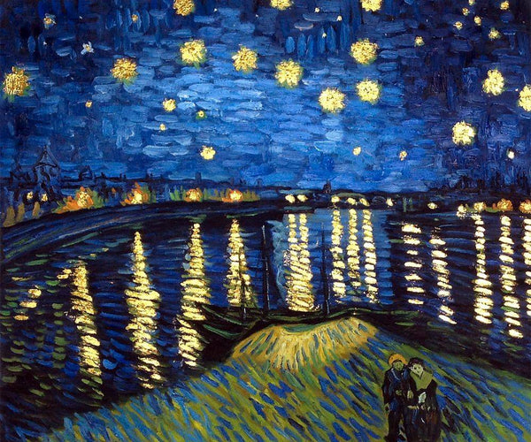 Starry Night Over The Rhone - Vincent Van Gogh - Nova Paintings