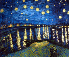 Starry Night Over The Rhone - Vincent Van Gogh