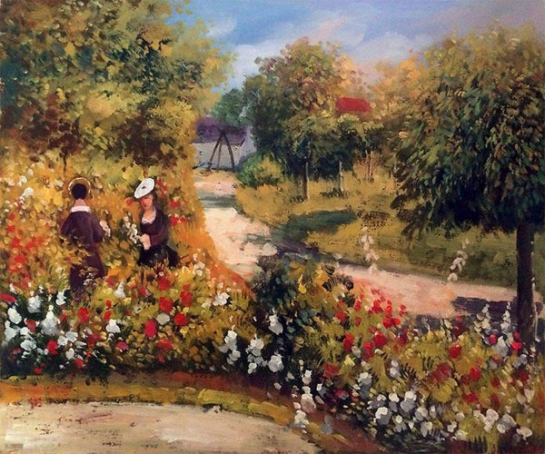 The Garden at Fontenay - Pierre-Auguste Renoir