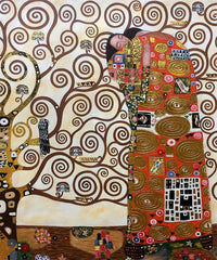 Fulfillment - The Embrace - Gustav Klimt