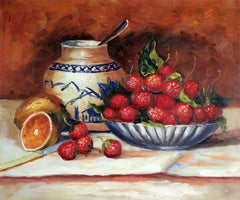 Strawberries - Pierre-Auguste Renoir