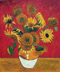 Sunflowers, Red - Vincent Van Gogh