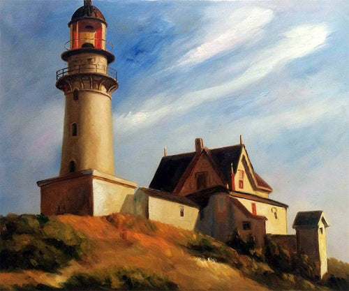 Lighthouse at Two Lights - Edward Hopper