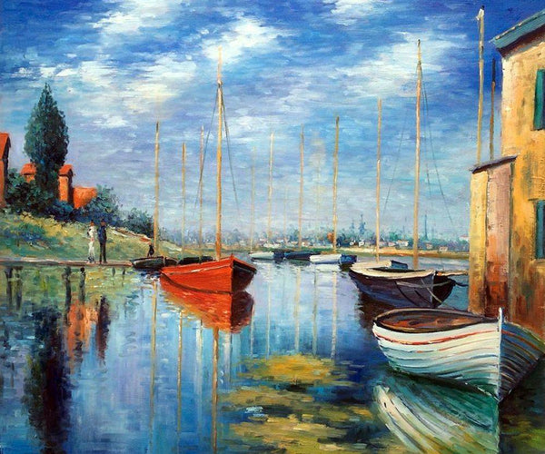 Argenteuil, Yachts 02 - Claude Monet - Nova Paintings