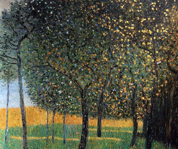 Fruit Trees - Gustav Klimt - Nova Paintings