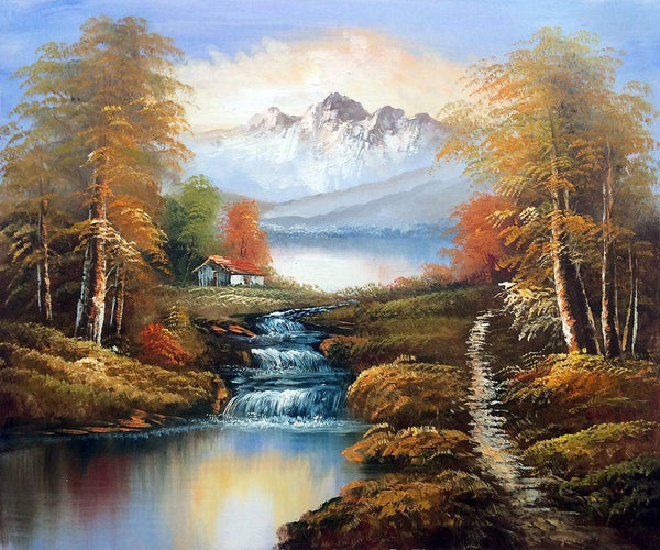 North View of Mountains - Unknown Artists - Nova Paintings