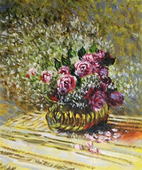 Flowers in a Pot - Claude Monet