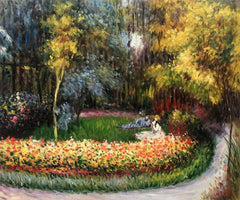In the Garden - Claude Monet