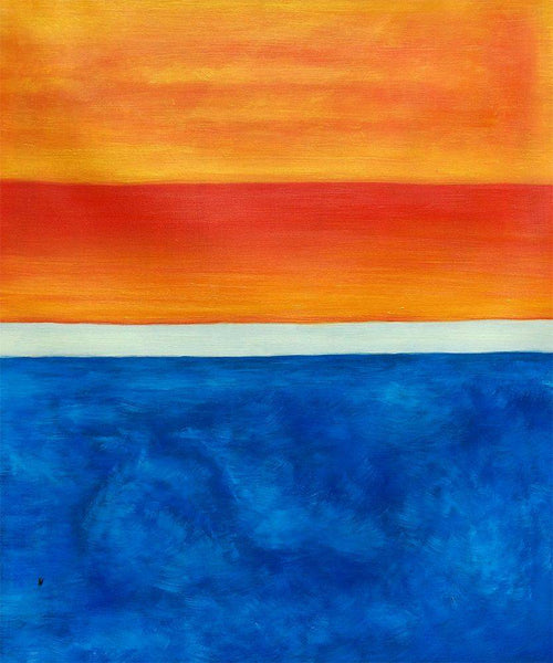 Yellow, Red, Blue - Mark Rothko