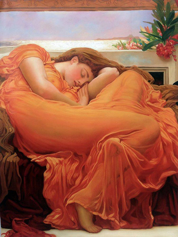 Flaming June - Lord Frederic Leighton - Nova Paintings