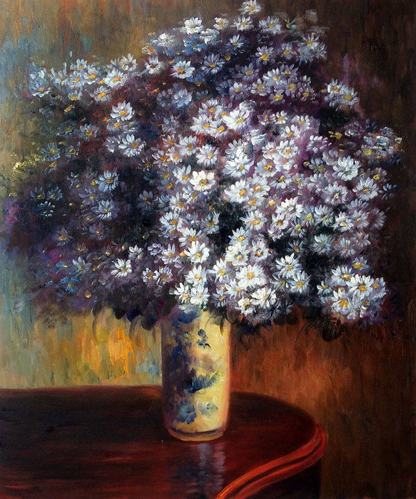 Asters - Claude Monet - Nova Paintings