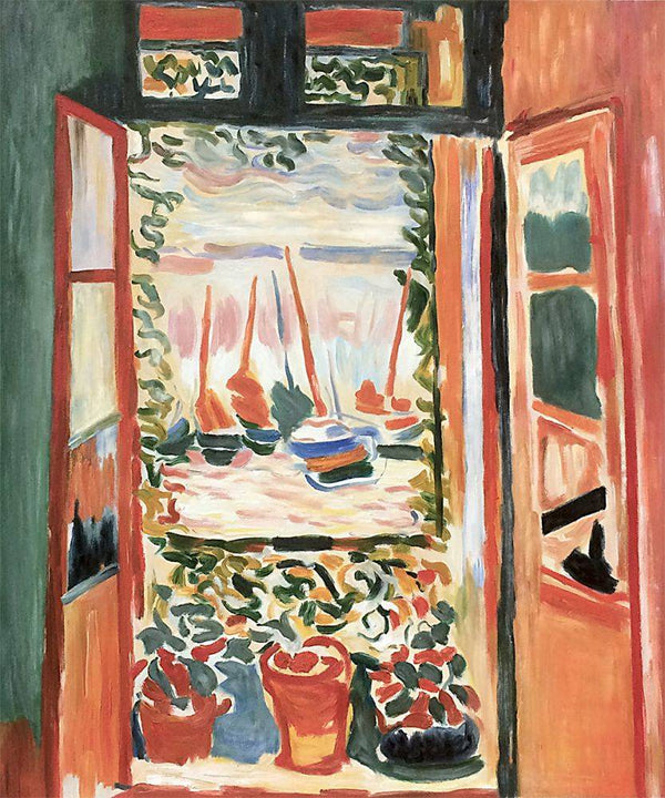 Open Window Collioure - Henri Matisse - Nova Paintings