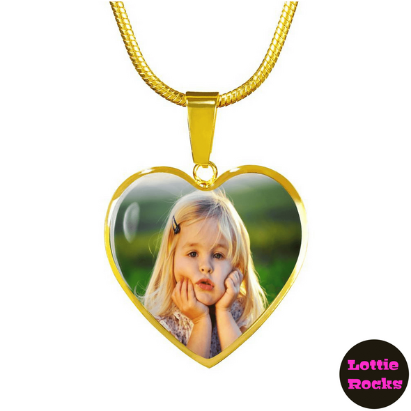 Personalized Photo Custom Upload Jewelry