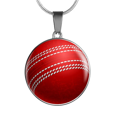 lottierocks:CricketBall 3D Circle Pendant Necklace