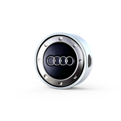 Audi Logo Circle Charm - lottierocks