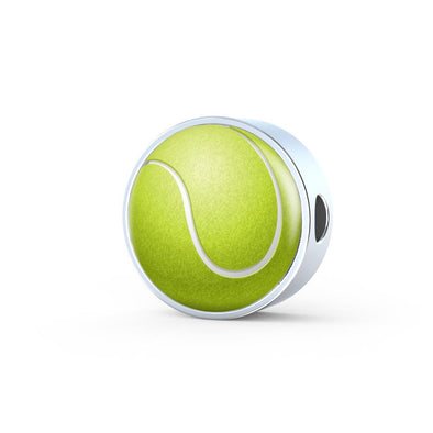 TennisBall 3D Circle Charm - lottierocks