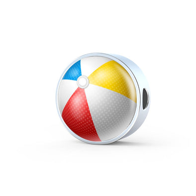 BeachBall 3D Circle Charm - lottierocks