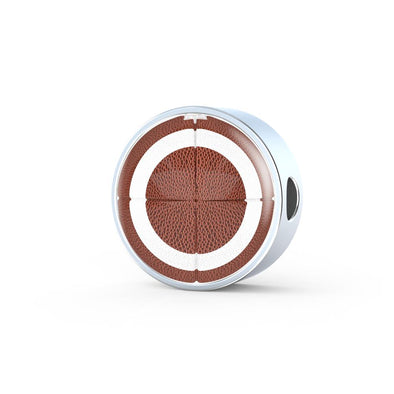 lottierocks:American FootBall 3D Circle Charm