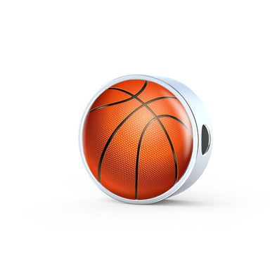 BasketBall 3D Circle Charm - lottierocks