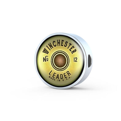 Winchester Shotgun Circle Charm - lottierocks