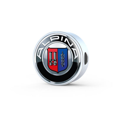 Alpina Logo Circle Charm - lottierocks